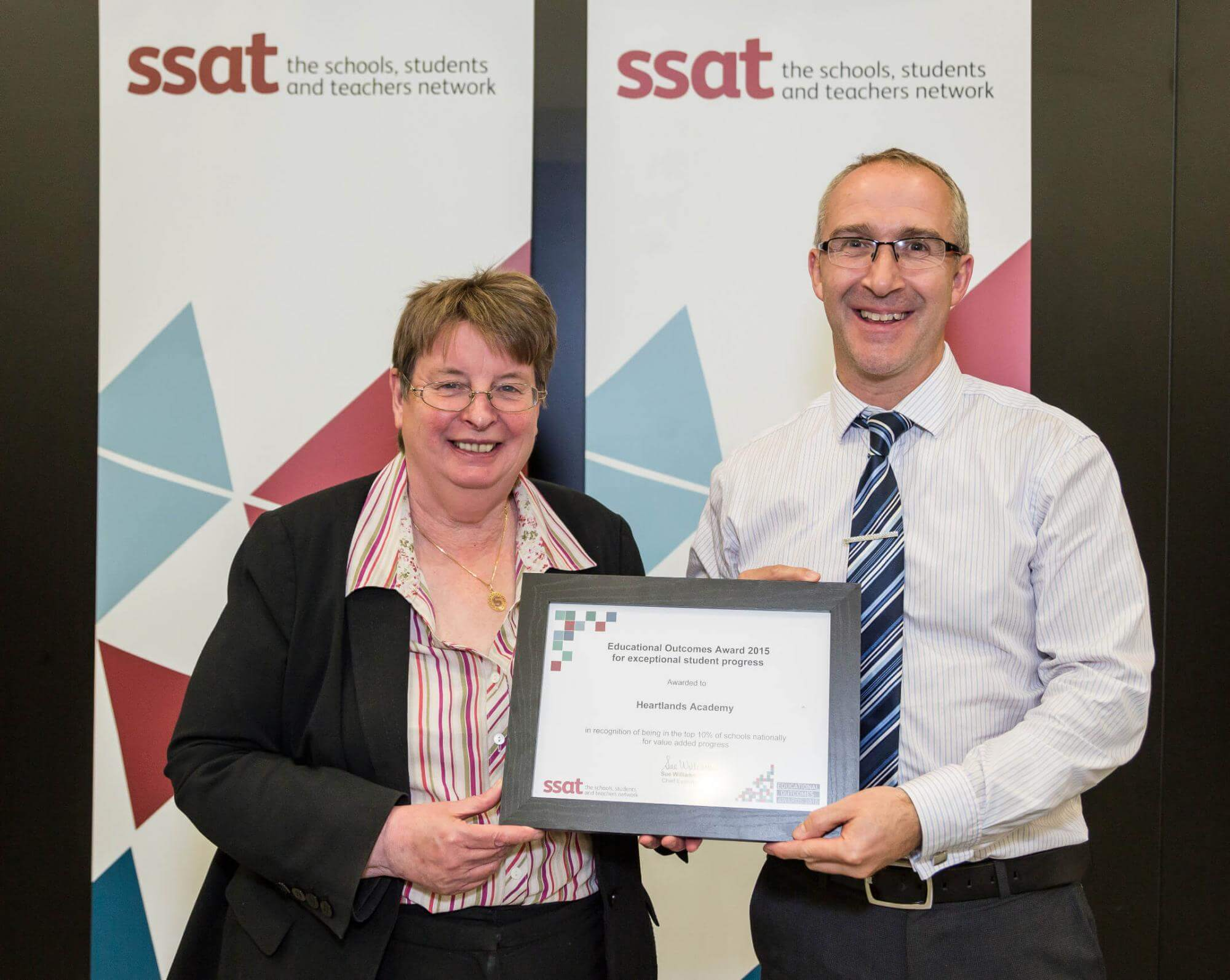 SSAT Educational Outcomes Award 2015