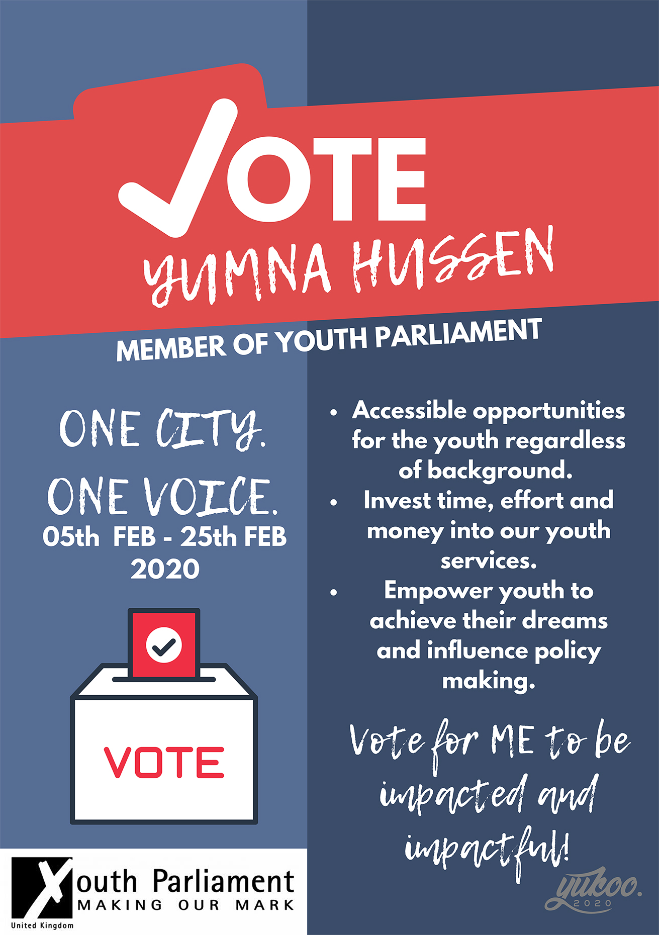 Vote for Yumna Hussen